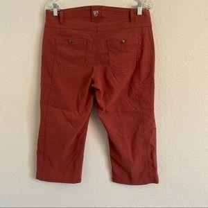 Kuhl Pants - Kuhl Trekr Kapri pants Capri Mauve pink Size 10